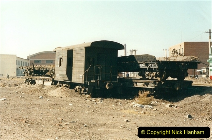 China 1999 October Number 2. (44) China Rail Tongliao Shed.