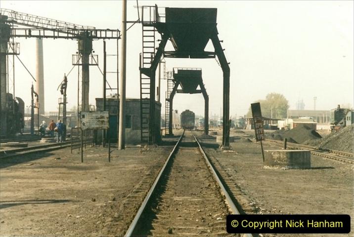 China 1999 October Number 2. (47) China Rail Tongliao Shed.