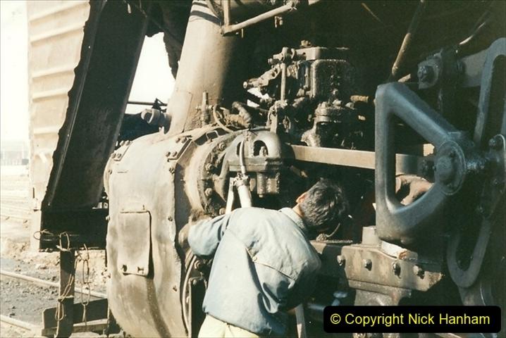 China 1999 October Number 2. (48) China Rail Tongliao Shed.