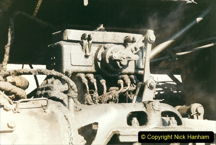China 1999 October Number 2. (50) China Rail Tongliao Shed.