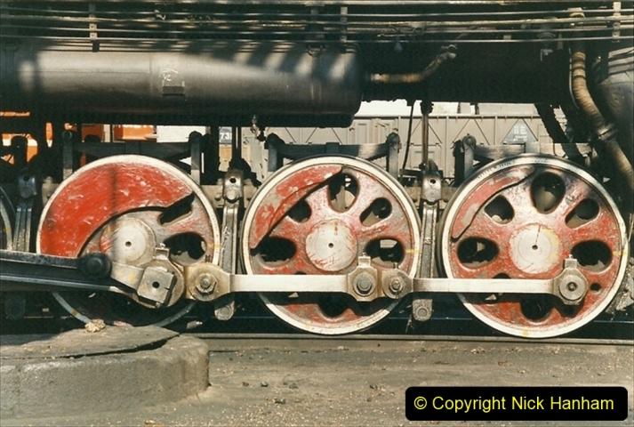 China 1999 October Number 2. (53) China Rail Tongliao Shed.