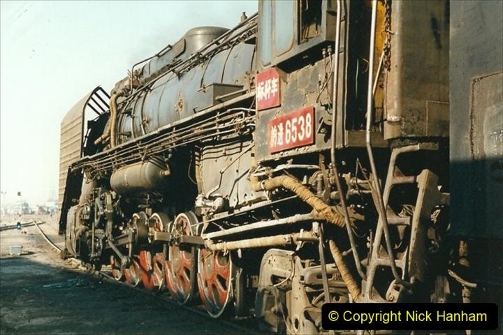 China 1999 October Number 2. (6) China Rail Tongliao Shed.