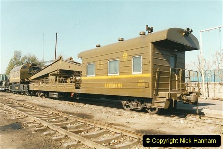 China 1999 October Number 2. (65) China Rail Tongliao Shed.