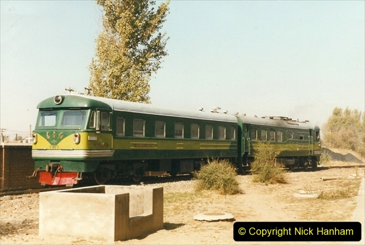 China 1999 October Number 2. (86) China Rail Tongliao Shed.