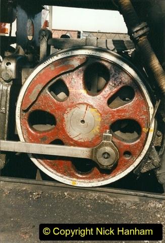 China 1999 October Number 2. (9) China Rail Tongliao Shed.