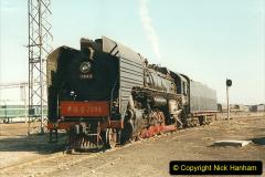 China 1999 October Number 2. (1) China Rail Tongliao Shed.