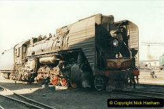 China 1999 October Number 2. (12) China Rail Tongliao Shed.