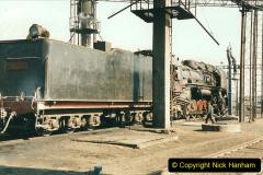China 1999 October Number 2. (14) China Rail Tongliao Shed.