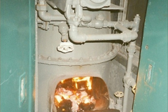 China 1999 October Number 2. (151) Coach boiler.