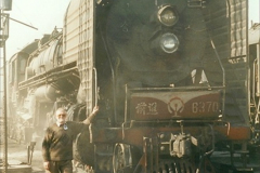 China 1999 October Number 2. (16) China Rail Tongliao Shed.