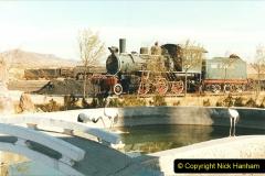 China 1999 October Number 2. (161) China Rail Deban Depot. USA built loco.