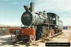 China 1999 October Number 2. (162) China Rail Deban Depot. USA built loco.