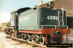 China 1999 October Number 2. (164) China Rail Deban Depot. USA built loco.