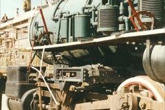 China 1999 October Number 2. (165) China Rail Deban Depot. USA built loco.