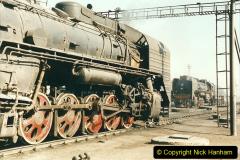 China 1999 October Number 2. (18) China Rail Tongliao Shed.