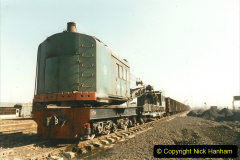 China 1999 October Number 2. (19) China Rail Tongliao Shed.