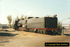 China 1999 October Number 2. (2) China Rail Tongliao Shed.