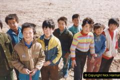 China 1999 October Number 2. (267) The Jingpeng Pass locals.