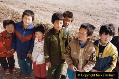 China 1999 October Number 2. (268) The Jingpeng Pass locals.