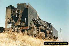 China 1999 October Number 2. (31) China Rail Tongliao Shed.