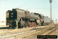 China 1999 October Number 2. (33) China Rail Tongliao Shed.