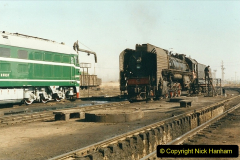 China 1999 October Number 2. (35) China Rail Tongliao Shed.