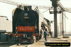 China 1999 October Number 2. (4) China Rail Tongliao Shed.
