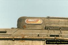 China 1999 October Number 2. (41) China Rail Tongliao Shed.