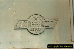 China 1999 October Number 2. (46) China Rail Tongliao Shed.