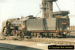 China 1999 October Number 2. (56) China Rail Tongliao Shed.