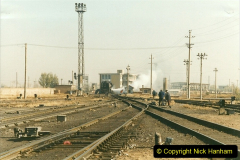 China 1999 October Number 2. (57) China Rail Tongliao Shed.