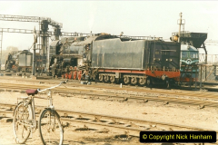 China 1999 October Number 2. (59) China Rail Tongliao Shed.