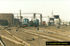 China 1999 October Number 2. (60) China Rail Tongliao Shed.