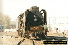 China 1999 October Number 2. (62) China Rail Tongliao Shed.