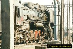 China 1999 October Number 2. (63) China Rail Tongliao Shed.