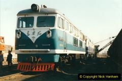 China 1999 October Number 2. (67) China Rail Tongliao Shed.