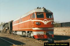 China 1999 October Number 2. (68) China Rail Tongliao Shed.
