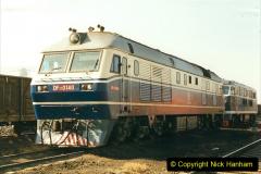 China 1999 October Number 2. (70) China Rail Tongliao Shed.