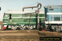 China 1999 October Number 2. (72) China Rail Tongliao Shed.