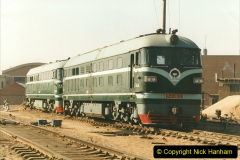 China 1999 October Number 2. (77) China Rail Tongliao Shed.