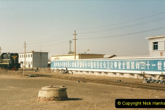China 1999 October Number 2. (79) China Rail Tongliao Shed.