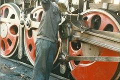 China 1999 October Number 2. (8) China Rail Tongliao Shed.