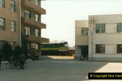 China 1999 October Number 2. (84) China Rail Tongliao Shed.