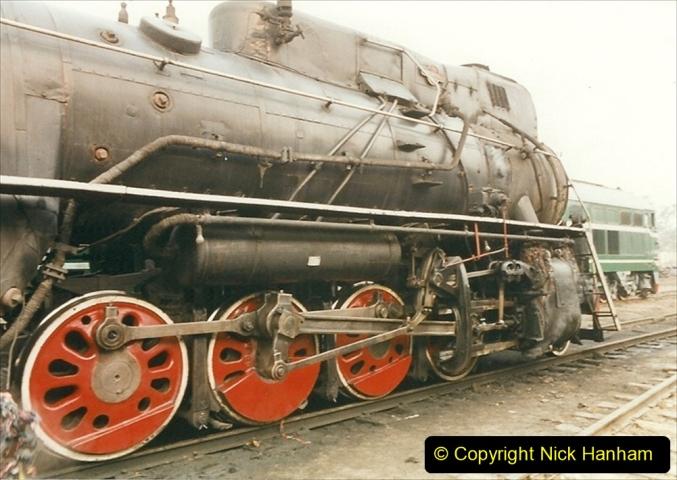 China 1999 October Number 3. (148)  China Rail Lingfen Depot148