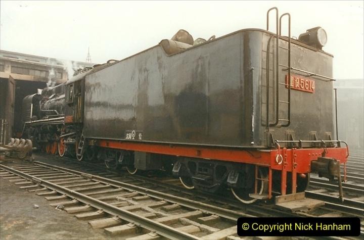China 1999 October Number 3. (151)  China Rail Lingfen Depot151