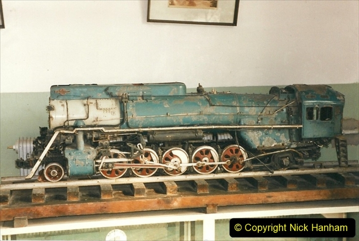 China 1999 October Number 3. (178)  China Rail Lingfen Depot178