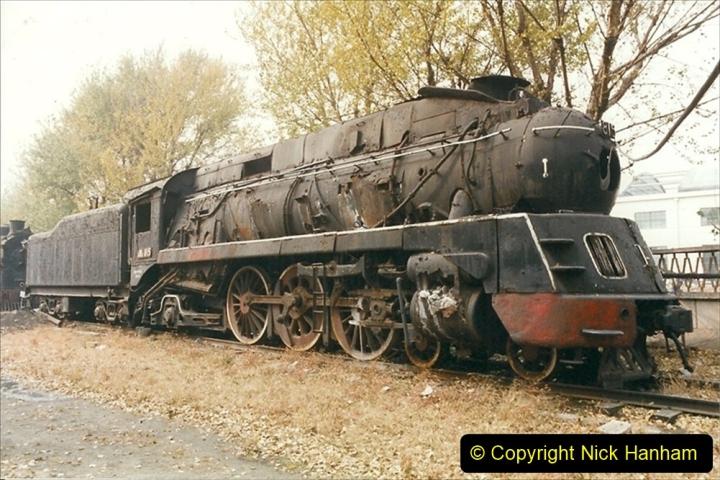 China 1999 October Number 3. (179)  China Rail Lingfen Depot179