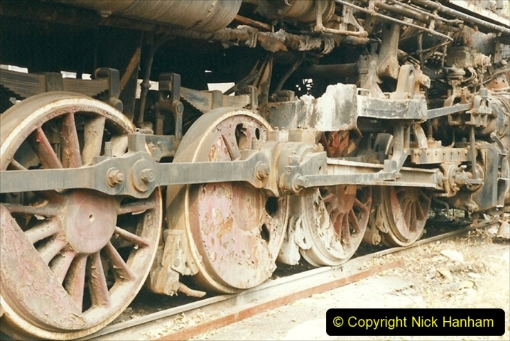 China 1999 October Number 3. (184)  China Rail Lingfen Depot184