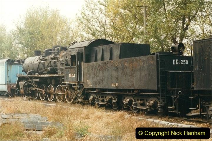 China 1999 October Number 3. (189)  China Rail Lingfen Depot189