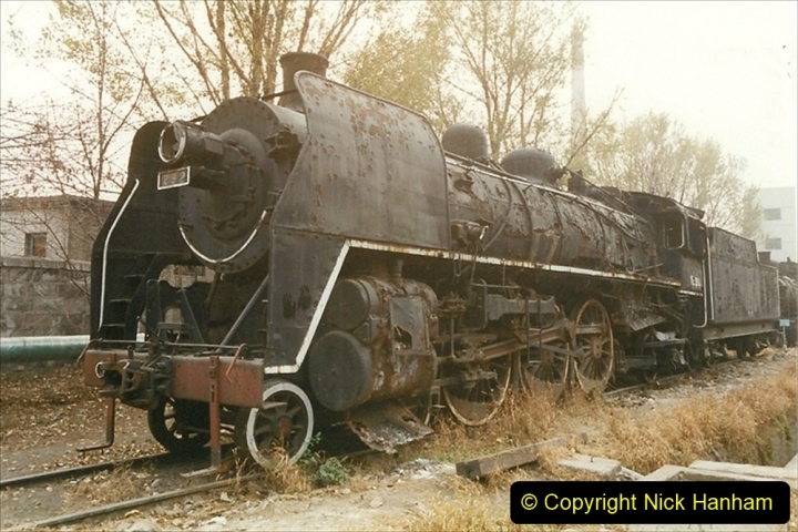 China 1999 October Number 3. (193)  China Rail Lingfen Depot193